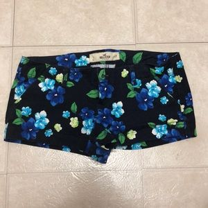 Hollister floral booty shorts